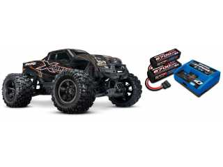 Traxxas X-Maxx 8S Limited Edition Orange Brushless Monster truck RTR - inclusief Power Package