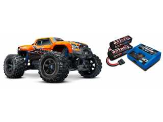 Traxxas X-Maxx 8S Orange-X Edition Brushless Monster truck RTR - inclusief Power Package