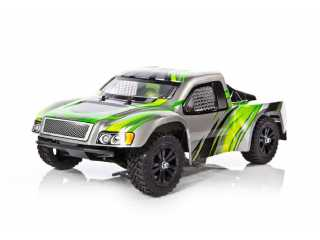 Yellow RC Stadium Racer electro short course truck 2.4Ghz RTR - Groen